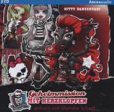 Monster High - Geheimmission mit Herzklopfen, Audio-CD