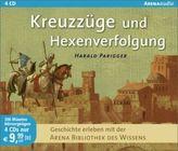 Kreuzzüge und Hexenverfolgung, 4 Audio-CDs