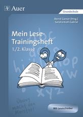 Mein Lese-Trainingsheft, 1./2. Klasse
