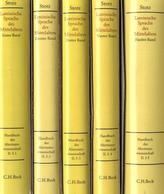 Handbuch zur lateinischen Sprache des Mittelalters, 5 Tle.