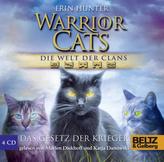 Warrior Cats, Die Welt der Clans, Das Gesetz der Krieger, 4 Audio-CDs