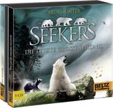 Seekers - Die Letzte Große Wildnis, 5 Audio-CDs