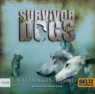 Survivor Dogs - Ein verborgener Feind, 5 Audio-CDs