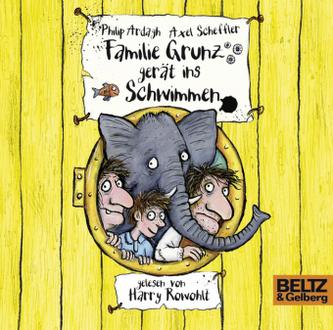 Familie Grunz gerät ins Schwimmen, 3 Audio-CDs