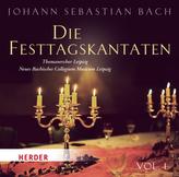 Die Festtagskantaten, 1 Audio-CD