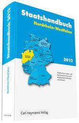 Staatshandbuch Nordrhein-Westfalen 2013, m. CD-ROM