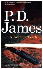 A Taste for Death. Der Beigeschmack des Todes, englische Ausgabe