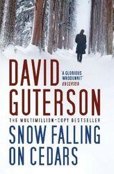 Snow Falling on Cedars. Schnee, der auf Zedern fällt, engl. Ausg.