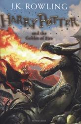 Harry Potter and the Goblet of Fire. Harry Potter und der Feuerkelch, englische Ausgabe