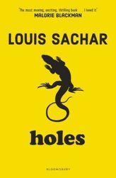 Holes. Löcher, englische Ausgabe