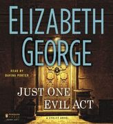 Just One Evil Act, 24 Audio-CDs. Nur eine böse Tat, Audio-CDs, englische Version