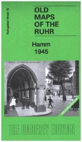 Godfrey historische Karte Hamm 1945