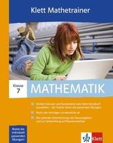 Klett Mathetrainer, 7. Klasse, 1 CD-ROM