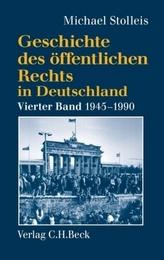Staats- und Verwaltungsrechtswissenschaft in West und Ost 1945-1990
