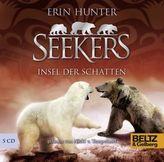 Seekers - Insel der Schatten, 5 Audio-CDs