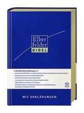 Elberfelder Bibel mit Erklärungen - Leder, Goldschnitt