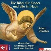 Die Bibel für Kinder und alle im Haus, 4 Audio-CDs