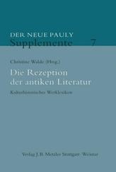 Die Rezeption der antiken Literatur