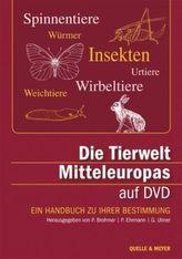 Die Tierwelt Mitteleuropas, DVD-ROM