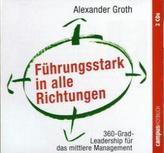 Führungsstark in alle Richtungen, 2 Audio-CDs