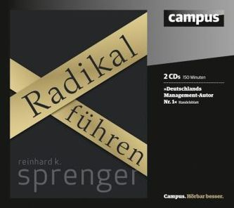 Radikal führen, 2 Audio-CDs