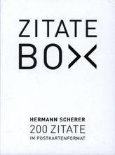 Zitate-Box