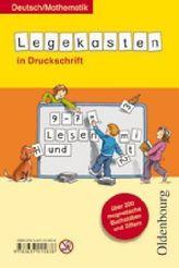 Legekasten Deutsch / Mathematik in Druckschrift