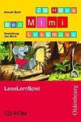 Zu Haus bei Mimi Lesemaus, LeseLernSpiel, 1 CD-ROM