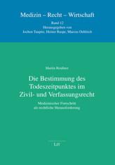 Die Bestimmung des Todeszeitpunktes im Zivil- und Verfassungsrecht