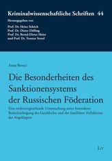 Die Besonderheiten des Sanktionensystems der Russischen Föderation