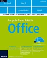 Das große Franzis Paket für Office, DVD-ROM + Handbuch
