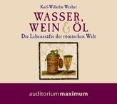 Wasser, Wein & Öl, 1 Audio-CD