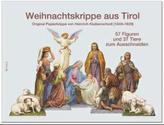 Weihnachtskrippe aus Tirol, 6 Bögen