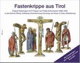 Fastenkrippe aus Tirol, 4 Bögen