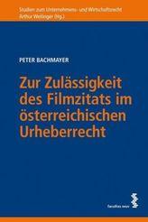 Zur Zulässigkeit des Filmzitats im österreichischen Urheberrecht