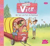 Die frechen Vier - Mit Sack und Pack ins Abenteuer, 2 Audio-CDs