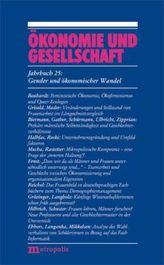 Gender und ökonomischer Wandel
