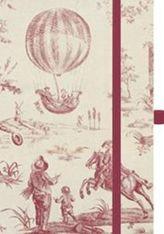 Premium Notes Small Textile 'Toile de Jouy'