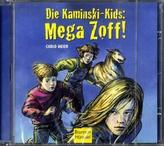 Die Kaminski-Kids - Mega Zoff!, 1 Audio-CD