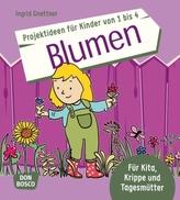 Projektideen für Kinder von 1 bis 4: Blumen