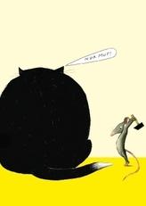 Mäuserache, Postkarten