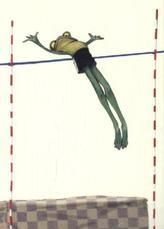 Frosch, Postkarten