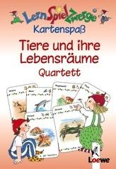 Tiere und ihre Lebensräume, Quartett (Kartenspiel)