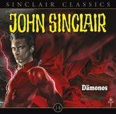 Geisterjäger John Sinclair Classics - Dämonos, 1 Audio-CD