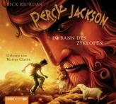 Percy Jackson, Im Bann des Zyklopen, 4 Audio-CDs
