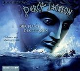 Percy Jackson, Der Fluch des Titanen, 4 Audio-CDs