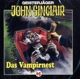 Geisterjäger John Sinclair - Das Vampirnest, 1 Audio-CD
