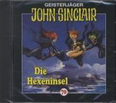 Geisterjäger John Sinclair - Die Hexeninsel, 1 Audio-CD