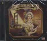 Sherlock Holmes - Das entwendete Fallbeil, Audio-CD