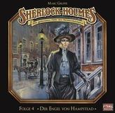Sherlock Holmes - Der Engel von Hampstead, 1 Audio-CD